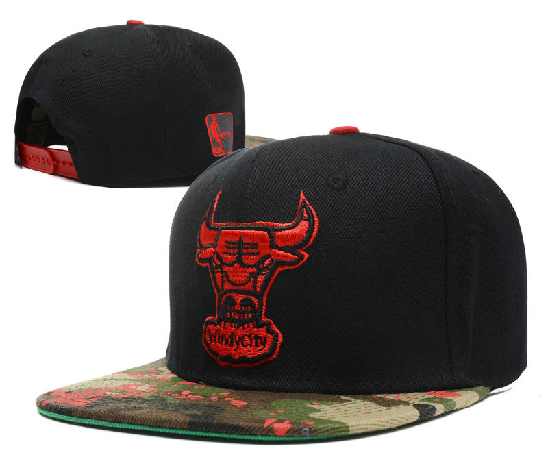 Chicago Bulls Snapback Hat DF 2